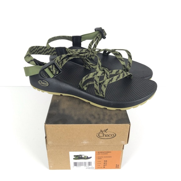 abbe59920b1d Chaco Shoes - NEW Chaco ZX1 Classic Sandal Static Avocado 10